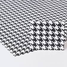 black wrapping paper black white houndstooth luxury wrapping paper gift tag only 99p