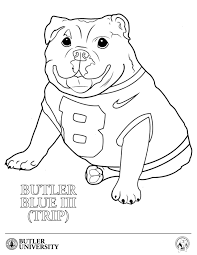 college mascot coloring pages funycoloring
