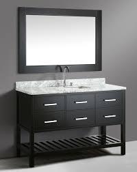 54 inch single sink vanity 54 inch transitional single sink bathroom vanity set espresso finish