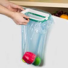 Kitchen Cupboard Garbage Bins by Cupboard Hanging Garbage Bin Trash Bag Clip Kitchen Storage Tool