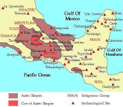 aztec map of mexico postclassic period 900 a d 1521 a d world of trade and