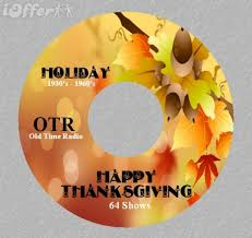 thanksgiving day 64 time radio shows otr 1 cd for sale
