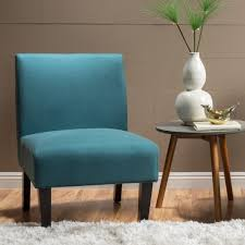 Aqua Accent Chair Kassi Fabric Accent Chair By Christopher Home Free