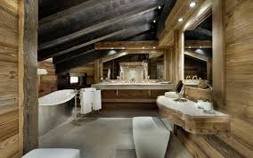 pool house bathroom ideas elegant chalet edelweiss in the french alps idesignarch rustic