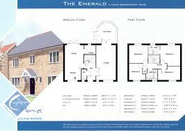 uk floor plans 4 bed house plans modern 6 blueprints 4 bed house plans uk