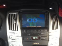 lexus rx 350 sound system 2009 lexus rx350 with playback on factory nav screen
