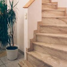 gilne natural stone indoor stairs