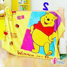 kids blanket winnie pooh myhomeone