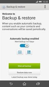 backup and restore apk xperia install xperia z3 backup restore app port