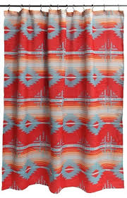 Shower Curtains With Red Inspiring Southwest Shower Curtains And Red Branch Southwest