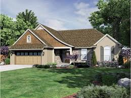 beautiful and functional one level home plan hwbdo68489 english
