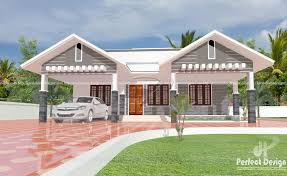 1087 Square Feet Modern Single Floor Home Design