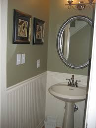 bathroom interior design lovely circle wall mirror with silver