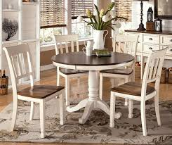 Dining Room Incredible Pedestal Kitchen Table With Leaf Amazing - Black round dining room table