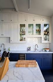 cabinets to go miramar ryan s stunning san francisco remodel blue kitchen cabinets
