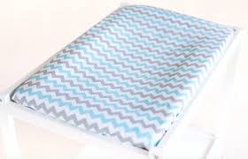 Change Table Mats Changing Table Mat Cover Aqua Chevron Warblers