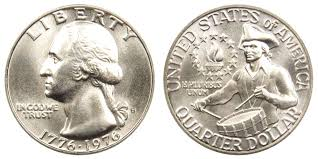 1776 to 1976 quarter dollar 1976 s washington quarters 40 silver bicentennial design value