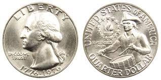 1776 to 1976 quarter 1976 s washington quarters 40 silver bicentennial design value and