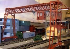 aliexpress com buy 1 87 model train ho scale crane gray diy kit