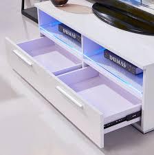 Led Tv Table 2015 Tv Stand Unit Entertainment Cabinet White High Gloss Led Shelves