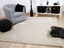 Schlafzimmer Teppich Taupe Bei Teppichversand24 Guenstige Hochflor Langflor Teppiche Und