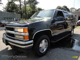 1999 chevrolet suburban k1500 lt 4x4 in onyx black photo 10