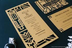 gatsby wedding invitations gatsby wedding invites we like design