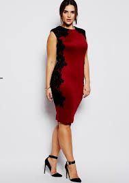 plus size red lace cocktail dress naf dresses