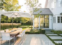 shop the look of this modern new canaan landscape connecticut