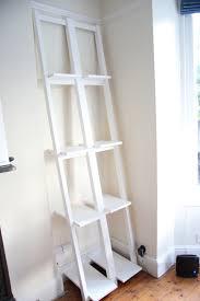 Ladder Shelf Bookcase Ikea Ivar Transfomed Ikea Hackers Ikea Hackers