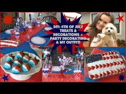 4th Of July Decoration Ideas 4th Of July Treats Decorations U0026 Party Decorating Ideas