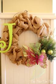 the easiest burlap wreath you will make duke manor farm