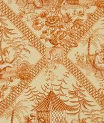 Robert Allen Drapery Fabric Orange Robert Allen Floral Upholstery Fabric U0026 Supplies
