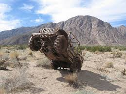 jeep metal art metal sculpture jeep across the desert near borrego sprin u2026 flickr