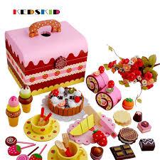 jeux aux fraises cuisine nouvelle arrivée bébé jouets fraise simulation chocolat gâteau cut
