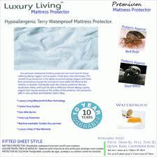 waterproof hypoallergenic mattress protectors queen