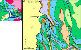 Provence France Map by Allochthonous Salt In The Sub Alpine Fold U2013thrust Belt Of Haute