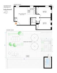 park place apartments floor plans spacious co op a block away from grand army plaza wants 849 000