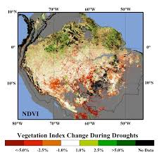 Amazon Rainforest Map Risk Of Amazon Rainforest Dieback Is Higher Than Ipcc Projects