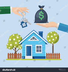buying house property real estate home stock vector 632411096