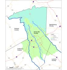 Greenville Sc Map Rewa Service Area Map