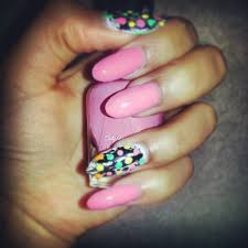 stiletto nail art designs u2013 acrylic nail designs