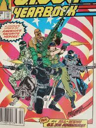 gi joe yearbook signed comics michael golden compulsive collector