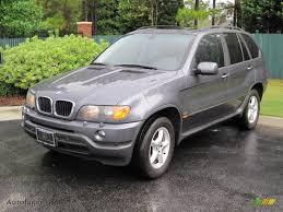 Bmw X5 Grey - 2003 bmw x5 3 0i in steel grey metallic v97525 auto jäger