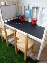 petit bureau bebe lit bébé transformé en petit bureau diy repurpose