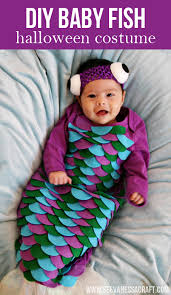 20 crafty days of halloween diy baby fish costume diy baby