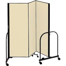 Portable Room Divider 4 H Screenflex Freestanding Portable Room Divider School Supply