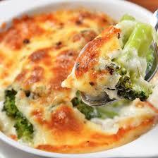 cuisine brocolis recette gratin de brocolis à l emmental