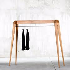 bedroom awesome floor coat rack contemporary wooden 7 day closet