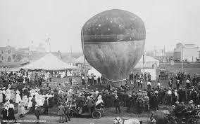 throwback thursday photo balloon ascension 1910 nebraska state